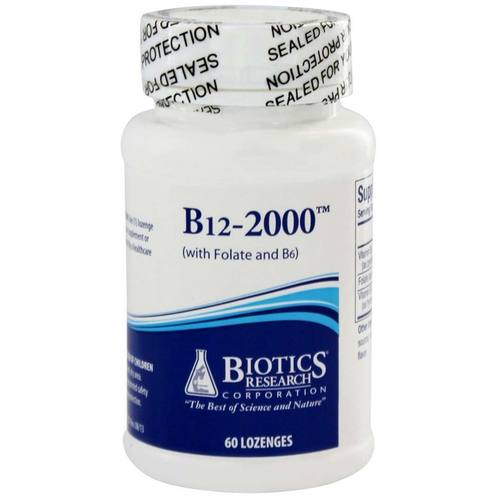 Biotics Research B12-2000  - 60 Lozenges - 149069_1.jpg