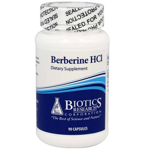 Biotics Research Berberine HCl 500 mg  - 90 Capsules - 149073_1.jpg