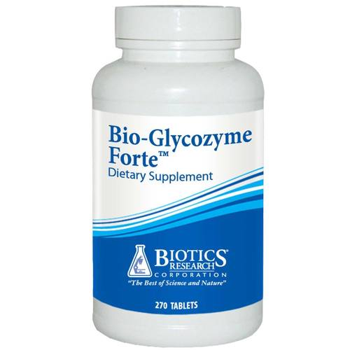 Biotics Research Bio-Glycozyme Forte  - 270 Tablets