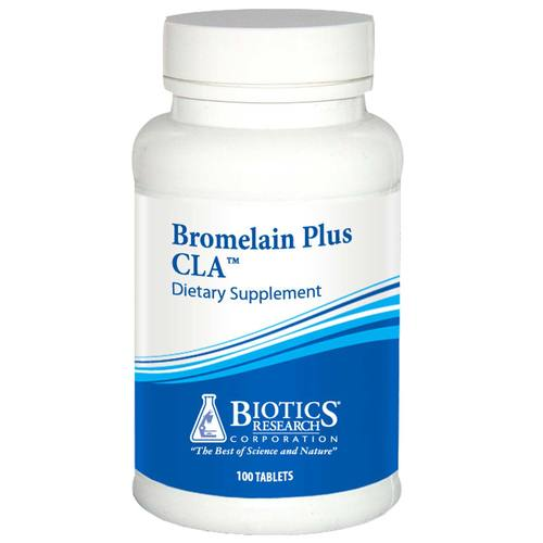 Biotics Research Bromelain Plus CLA  - 100 Tablets