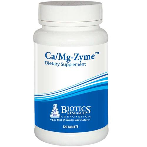 Biotics Research CaMg-Zyme  - 120 Tablets