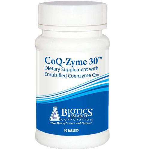Biotics Research CoQ-Zyme 30  - 30 Tablets