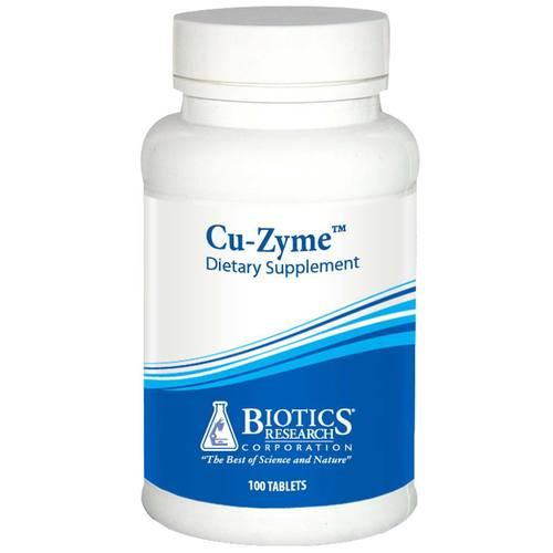 Biotics Research Cu-Zyme  - 100 Tablets