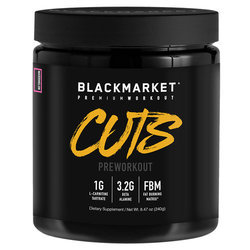 Blackmarket CUTS Pre Workout