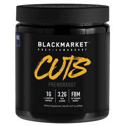 Blackmarket CUTS Pre-Workout