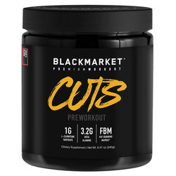 Blackmarket CUTS Pre Workout - Tiger's Blood