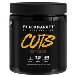 Blackmarket CUTS Pre Workout - Sour Gummy