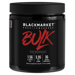 Blackmarket BULK Pre Workout