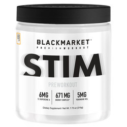 Blackmarket STIM Pre Workout