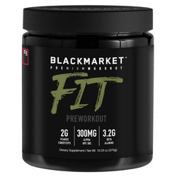 Blackmarket Fit Pre Workout - Juice Box