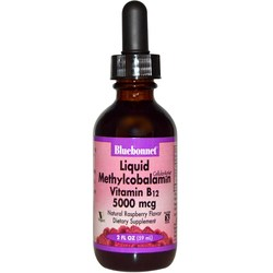 Bluebonnet Nutrition Liquid Methylcobalamin Vitamin B12 5000 mcg