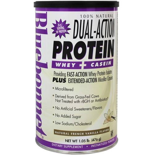 100% Natural Dual Action Protein Powder