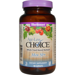 Bluebonnet Nutrition Age-Less Choice Whole Food Based Multiple Men 50+