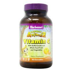 Bluebonnet Nutrition Super Earth Rainforest Animalz Vitamin C