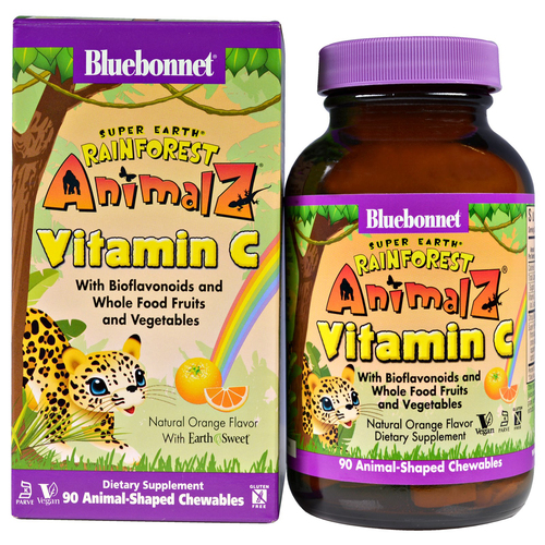 Super Earth Rainforest Animalz Vitamin C