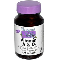 Bluebonnet Nutrition Vitamin A  D3