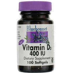 Bluebonnet Nutrition Vitamin D3