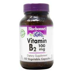 Bluebonnet Nutrition Vitamin B2