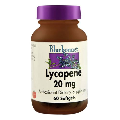 Bluebonnet Nutrition Lycopene  - 20 mg - 60 Softgels