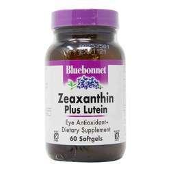 Bluebonnet Nutrition Zeaxanthin Plus Lutein