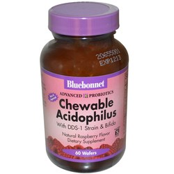 Bluebonnet Nutrition Advanced Probiotics Chewable Acidophilus