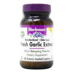 Bluebonnet Nutrition Fresh Odor-Less Garlic Extract