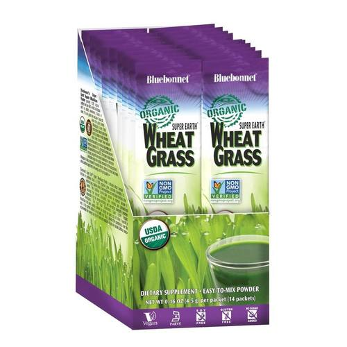 Super Earth Organic Wheatgrass
