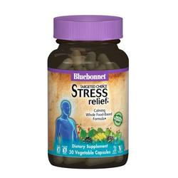 Bluebonnet Nutrition Targeted Choice Stress Relief - 30 Vegetable Capsules