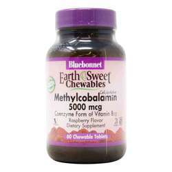 Bluebonnet Nutrition Earth Sweet Methylcobalamin Vitamin B12