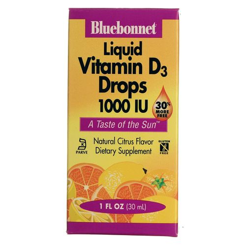 Liquid Vitamin D3 Drops