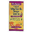 Bluebonnet Nutrition Liquid Vitamin D3 Drops 1,000 IU