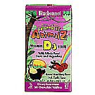 Super Earth Rainforest Animalz Vitamin D3 400 IU - 90 Chewables Yeast Free by Bluebonnet Nutrition