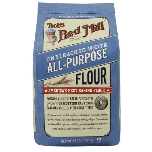 Unbleached White Flour (4 Pack)