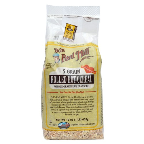 5 Grain Rolled Whole Grain Hot Cereal (4 Pack)