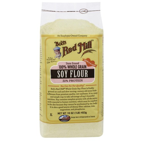 Whole Grain Soy Flour (4 Pack)