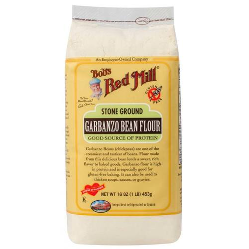 Stone Ground Garbanzo Bean Flour (4 Pack)