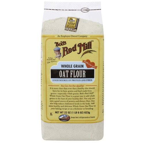 Bobs Red Mill Organic Whole Grain Oat Flour - 4 - 22 oz Bags - 58036_01.jpg