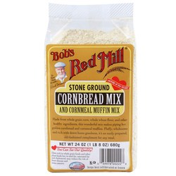 Bobs Red Mill Cornbread and Cornmeal Muffin Mix (4 Pack)