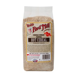 Bobs Red Mill Whole Wheat Farina Hot Cereal (4 Pack)