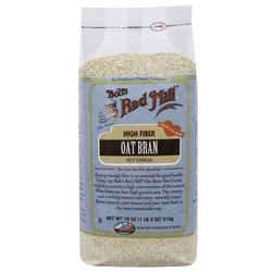 Bobs Red Mill Oat Bran Hot Cereal (4 Pack)