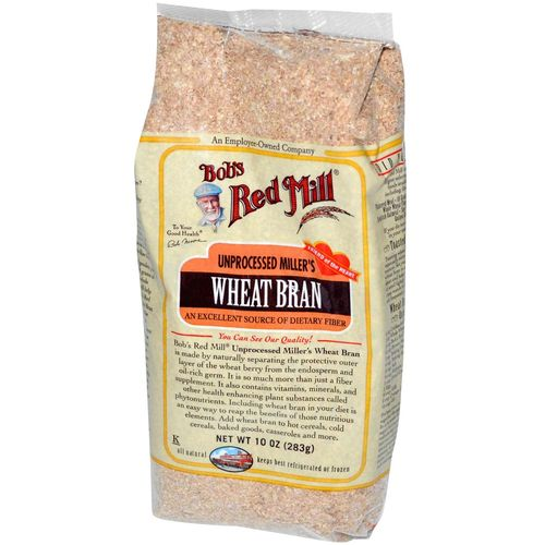 Unprocessed Miller's Wheat Bran
