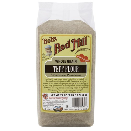 Whole Grain Teff Flour (4 Pack)