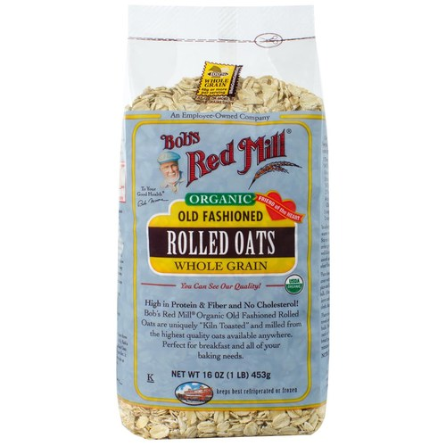 Organic Old Fashioned Rolled Oats (4 Pack)