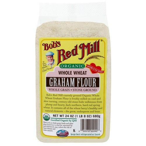 Whole Wheat Graham Flour (4 Pack)