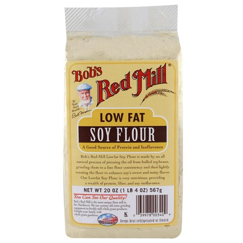 Low Fat Soy Flour (4 Pack)