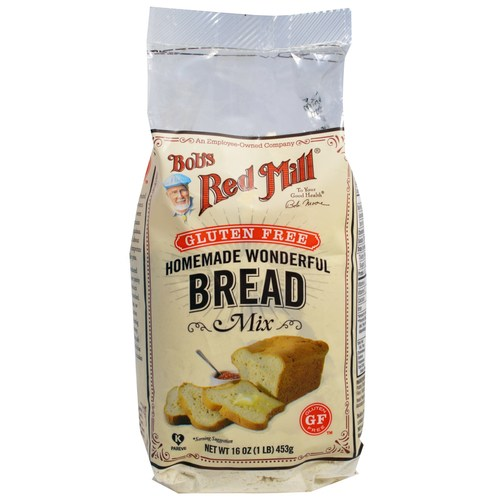 Gluten Free Homemade Wonderful Bread Mix (4 Pack)