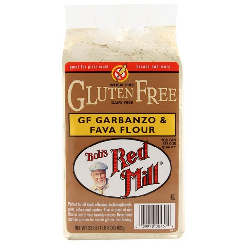 Gluten Free Garbanzo and Fava Flour (4 Pack)