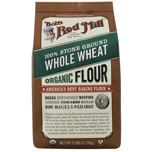 Organic Whole Wheat Flour (4 Pack)