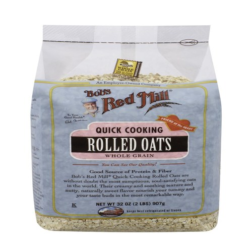 Quick Cooking Rolled Oats (4 Pack)