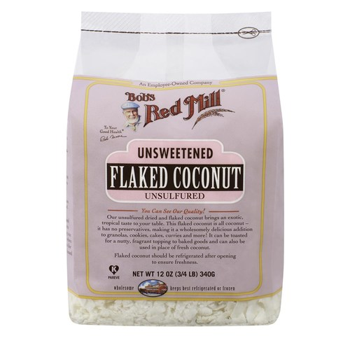 Unsweetened Flaked Coconut (4 Pack)